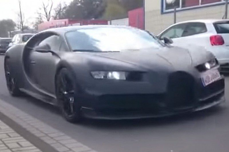 La Bugatti Chiron continue à se dévoiler