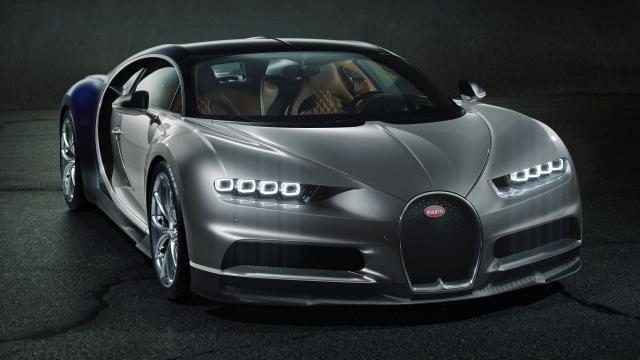 La Bugatti Chiron officiellement présentée à Genève