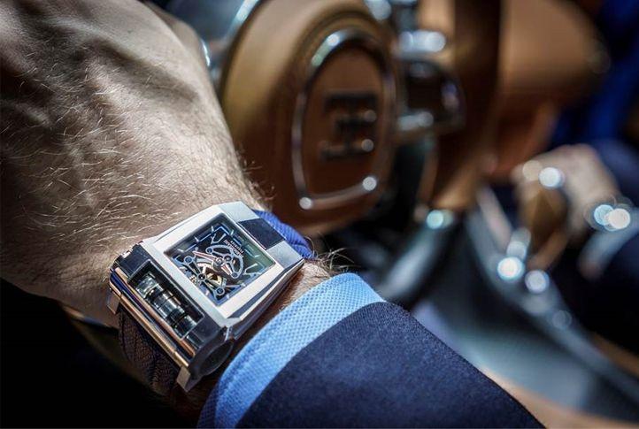 La Bugatti Chiron en mouvement