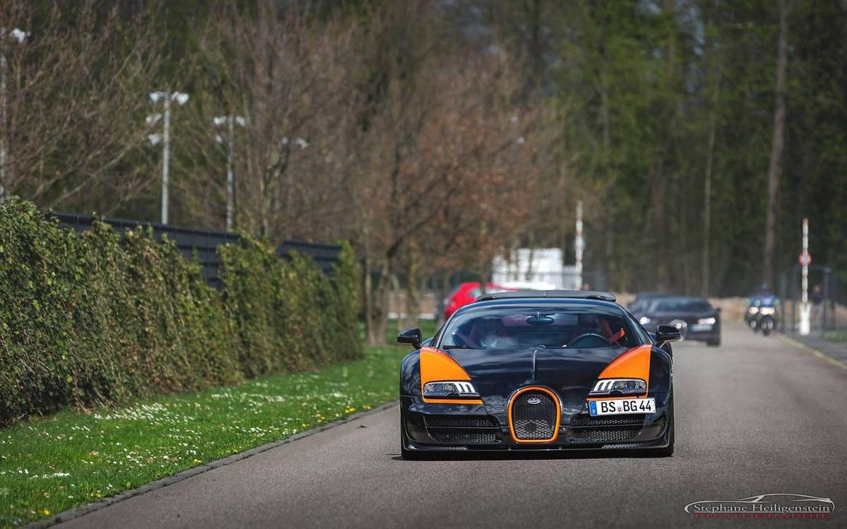La Bugatti Chiron spottée à Molsheim