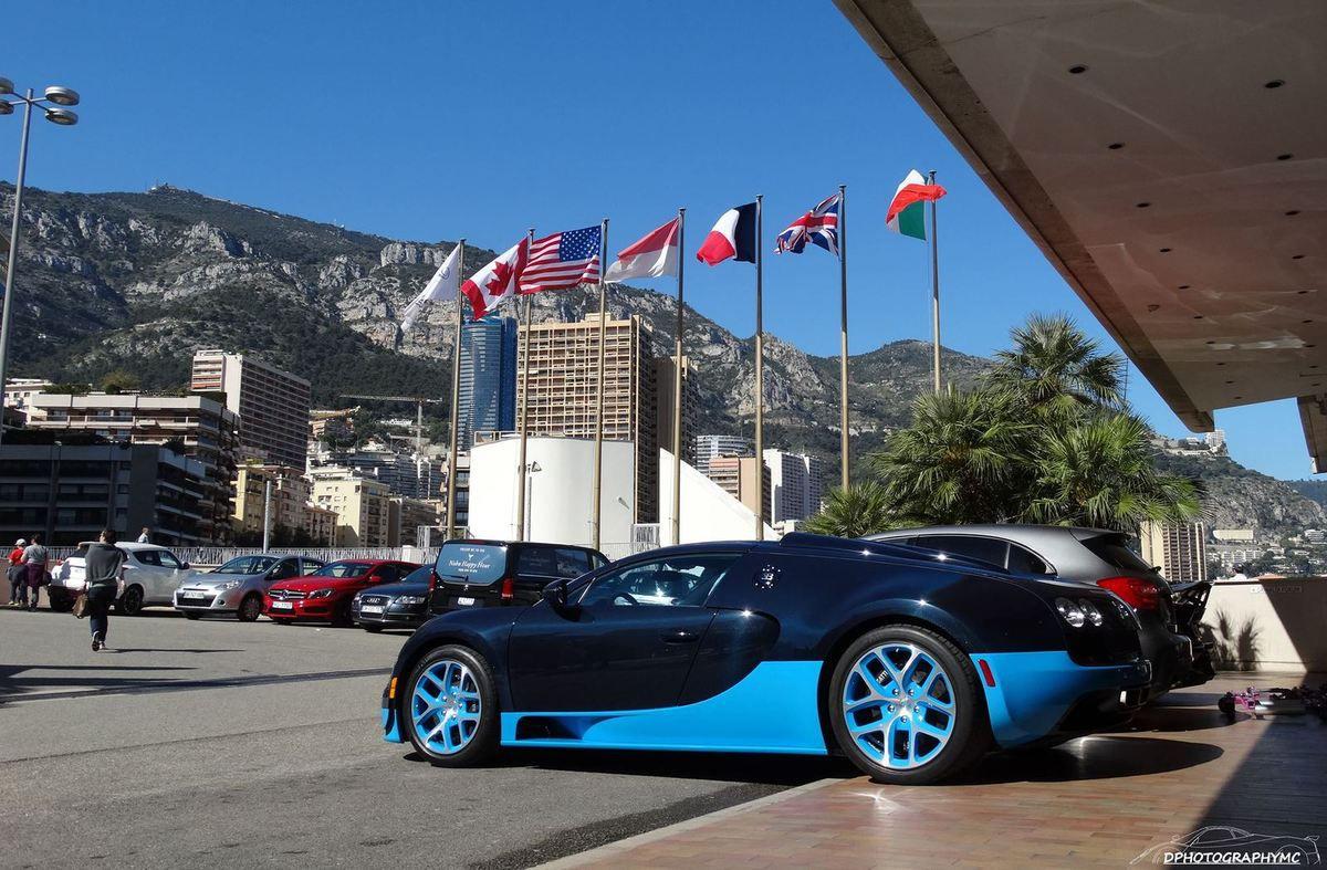La Bugatti Chiron débarque à Monaco