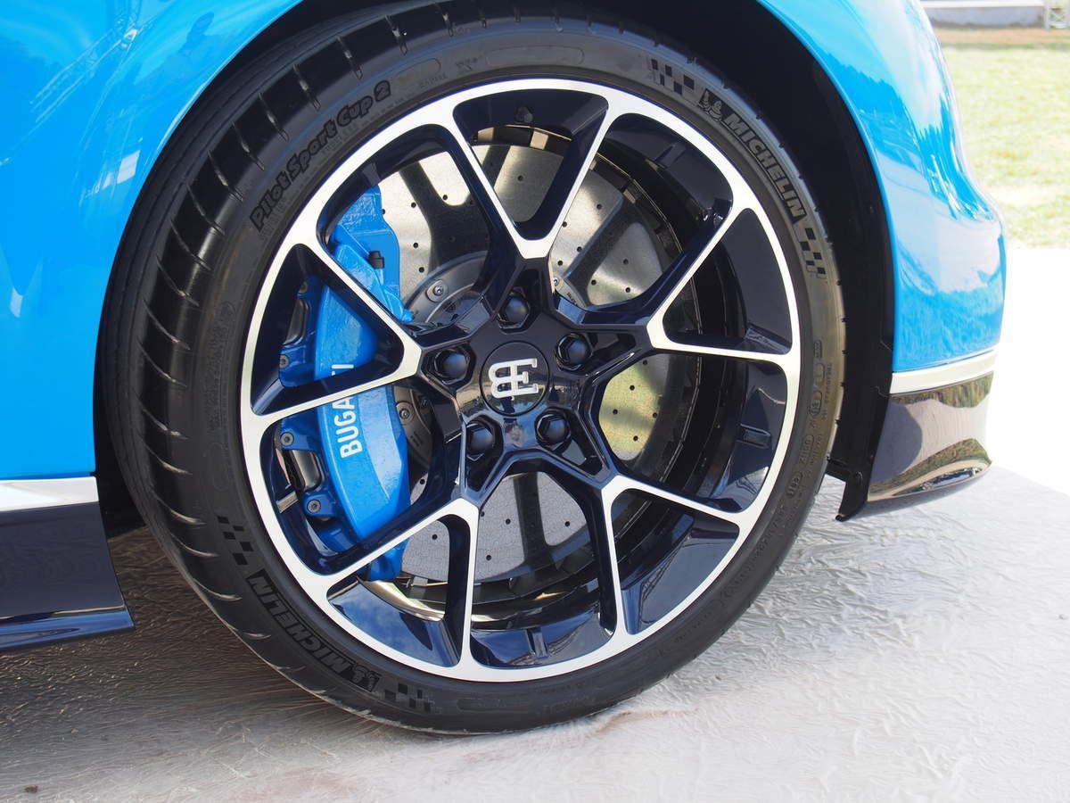 Les Bugatti Chiron et Vision Gran Turismo à Chantilly