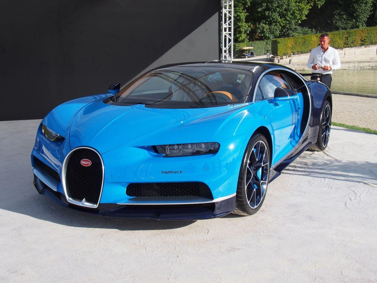 Les Bugatti Chiron et Vision Gran Turismo à Chantilly - Bugatticars