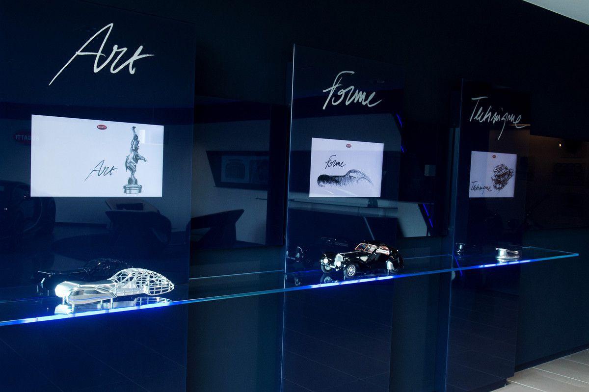 Bugatti ouvre son nouveau showroom à Bruxelles
