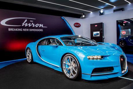Bugatti fête la première Chiron en Asie du Sud-Est