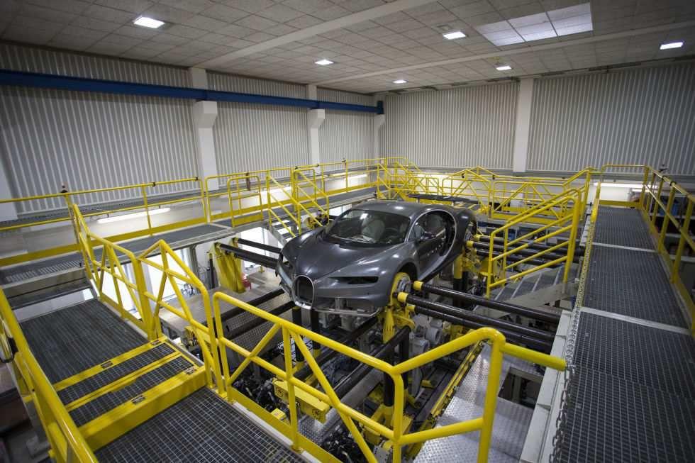 Photos inédites du développement de la Bugatti Chiron