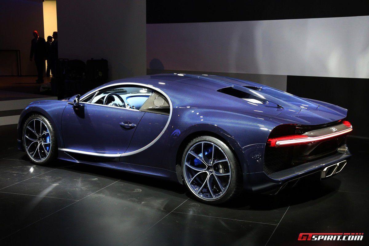 La Bugatti Chiron au salon de Genève 2017