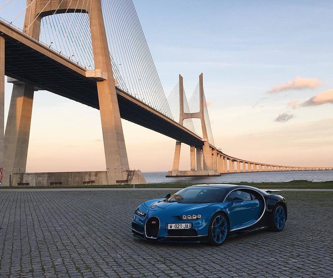 Démarrage des essais presse de la Bugatti Chiron
