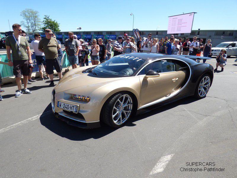 La Bugatti Chiron aux 24 heures du Nurburgring 2017
