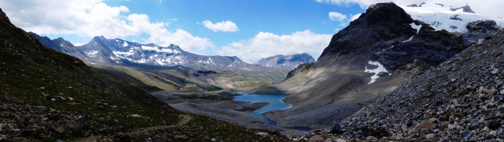 Grande Traversée des Alpes - deuxième semaine - Mt Blanc jusqu'à Modane