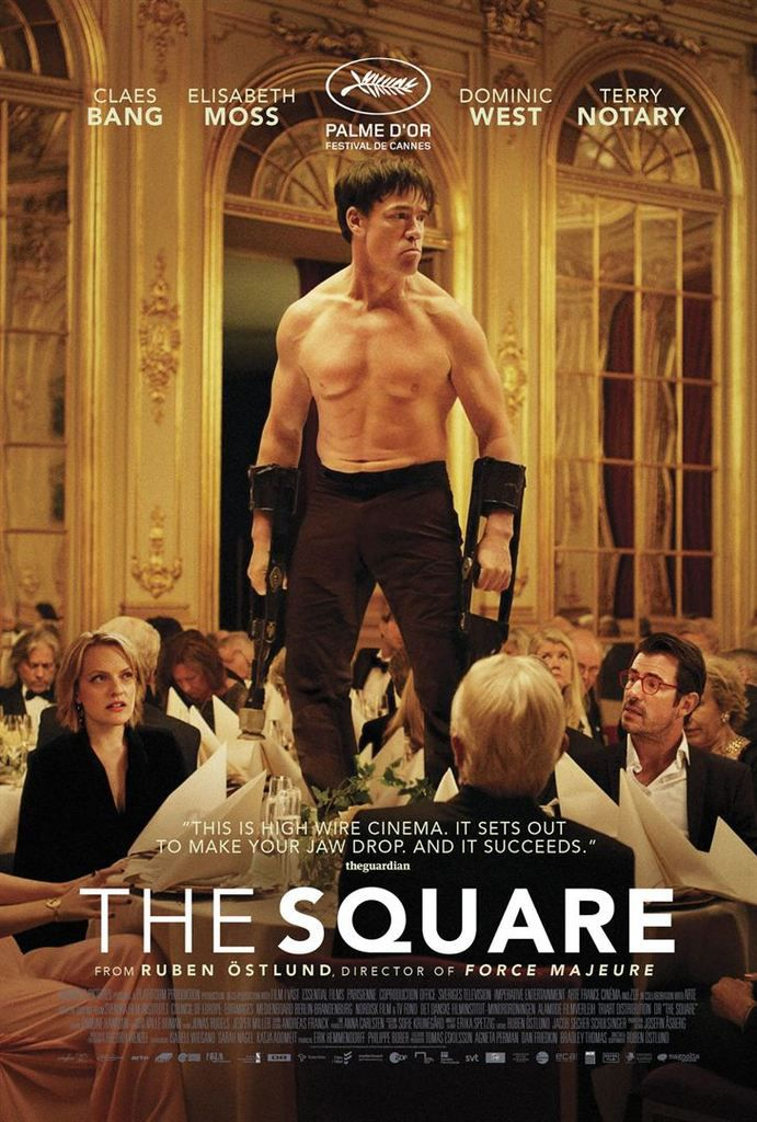 The Square – film suédo-danois de Ruben Ostlund – 2017 – Palme d'Or Cannes 2017