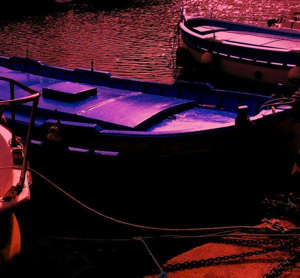 Bleu + Rouge = Violet