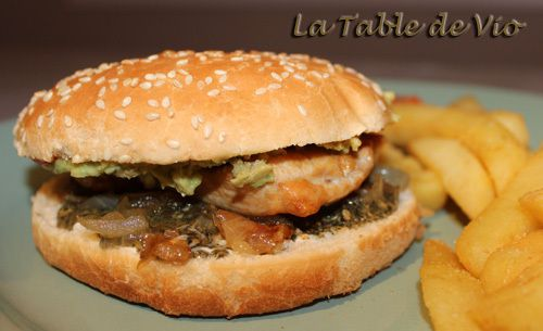 Tériaky burger