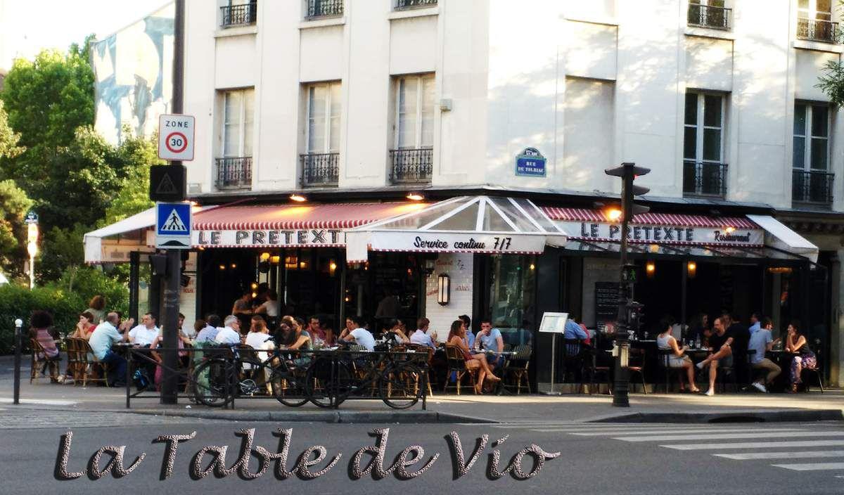 Le Prétexte, brasserie, Paris 13ème