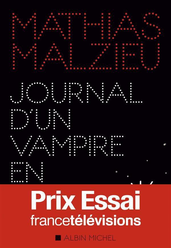 """Journal d'un vampire en pyjama"" de Mathias Malzieu, éd. Albin Michel (Janvier 2016)"