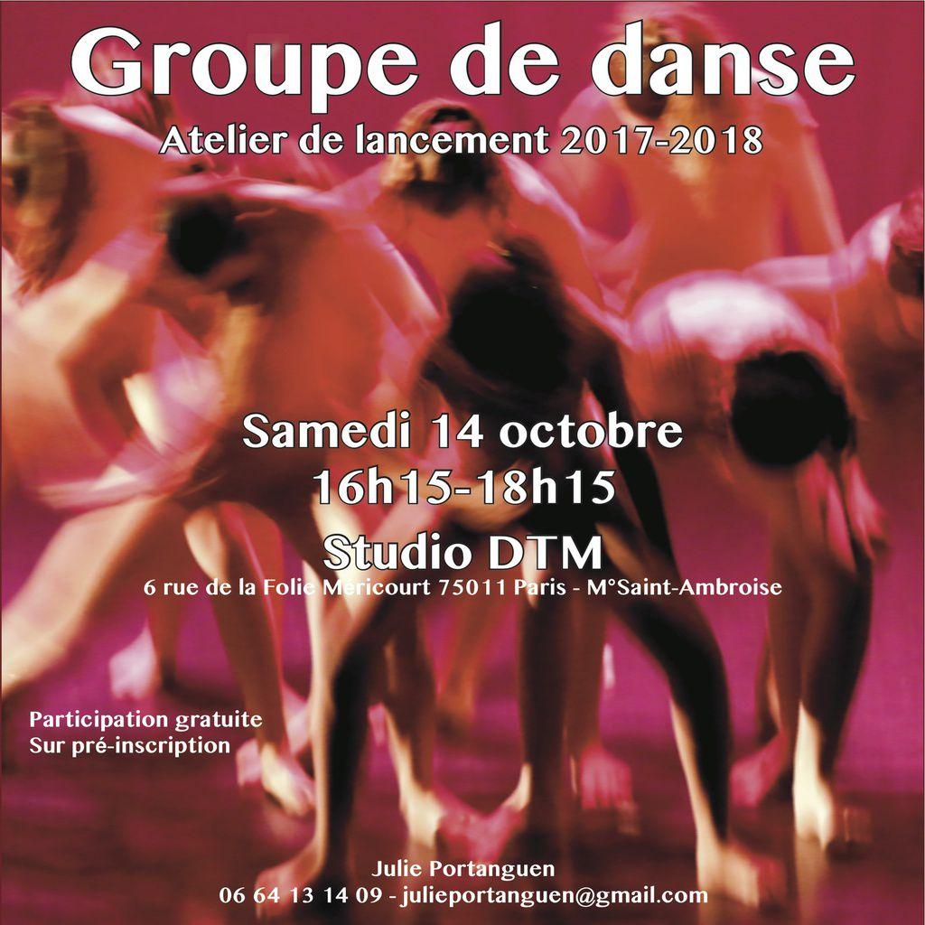 Groupe de danse amateur : c'est reparti !
