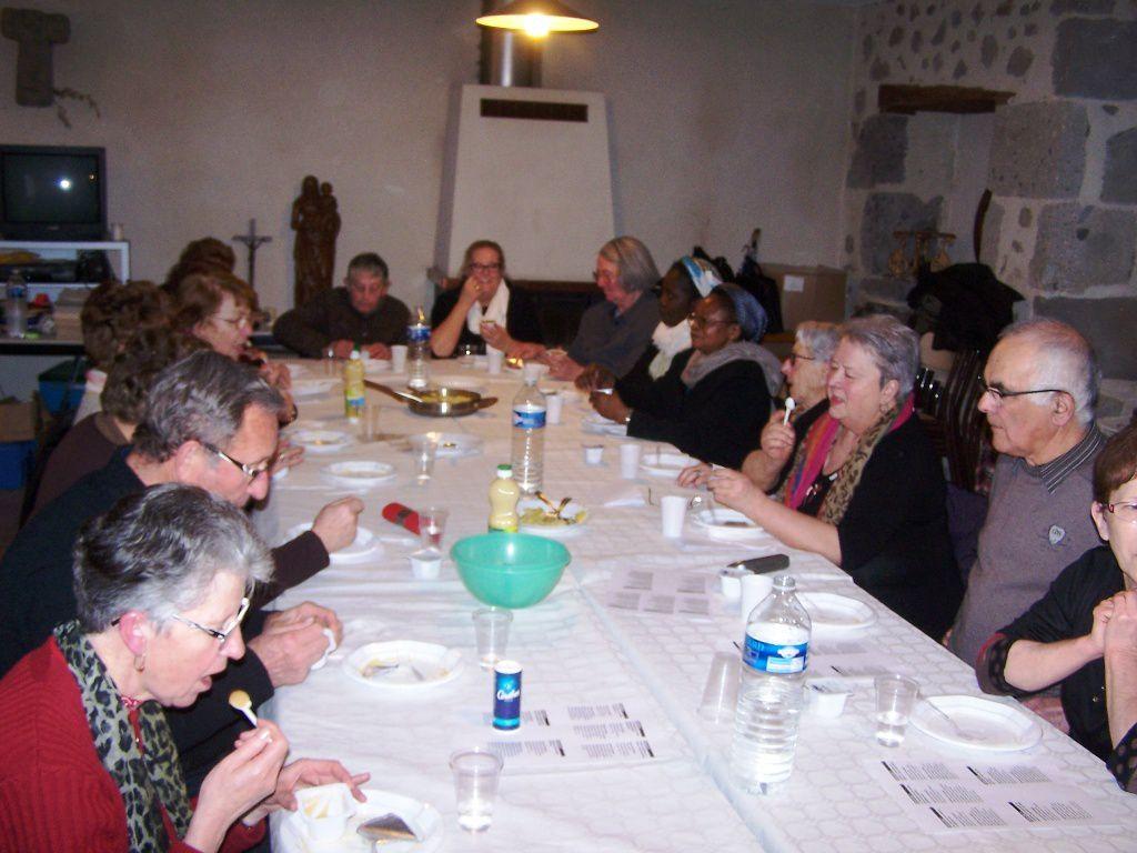 CARÊME 2015: Temps de convivialité et d'échange du 21 mars
