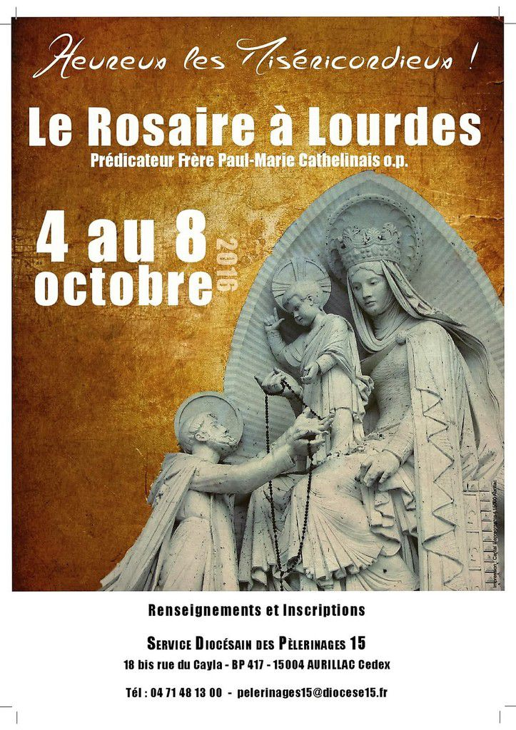 LE ROSAIRE A LOURDES: Renseignements/Inscription