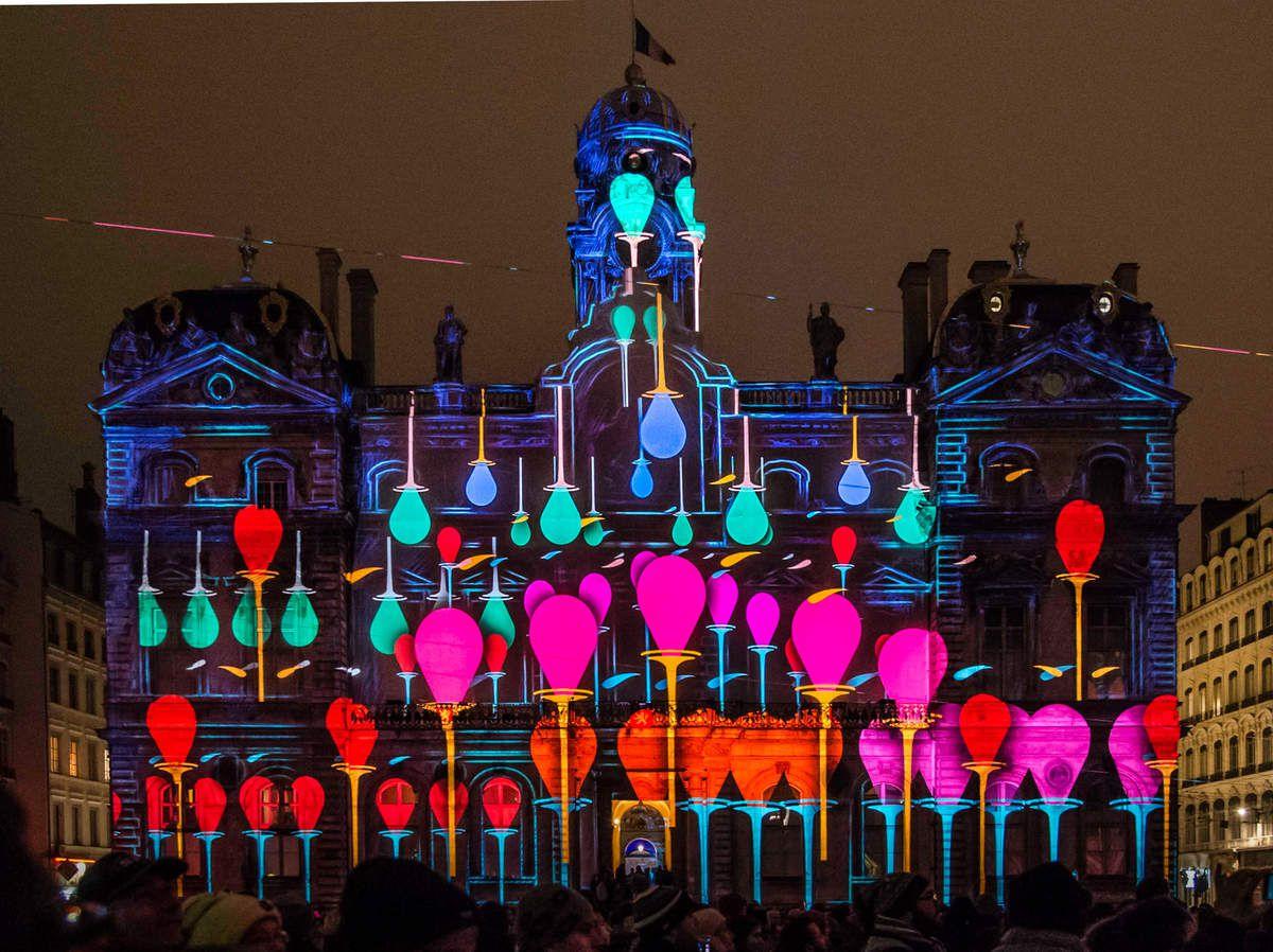 Lyon, Fête des Lumières 2014