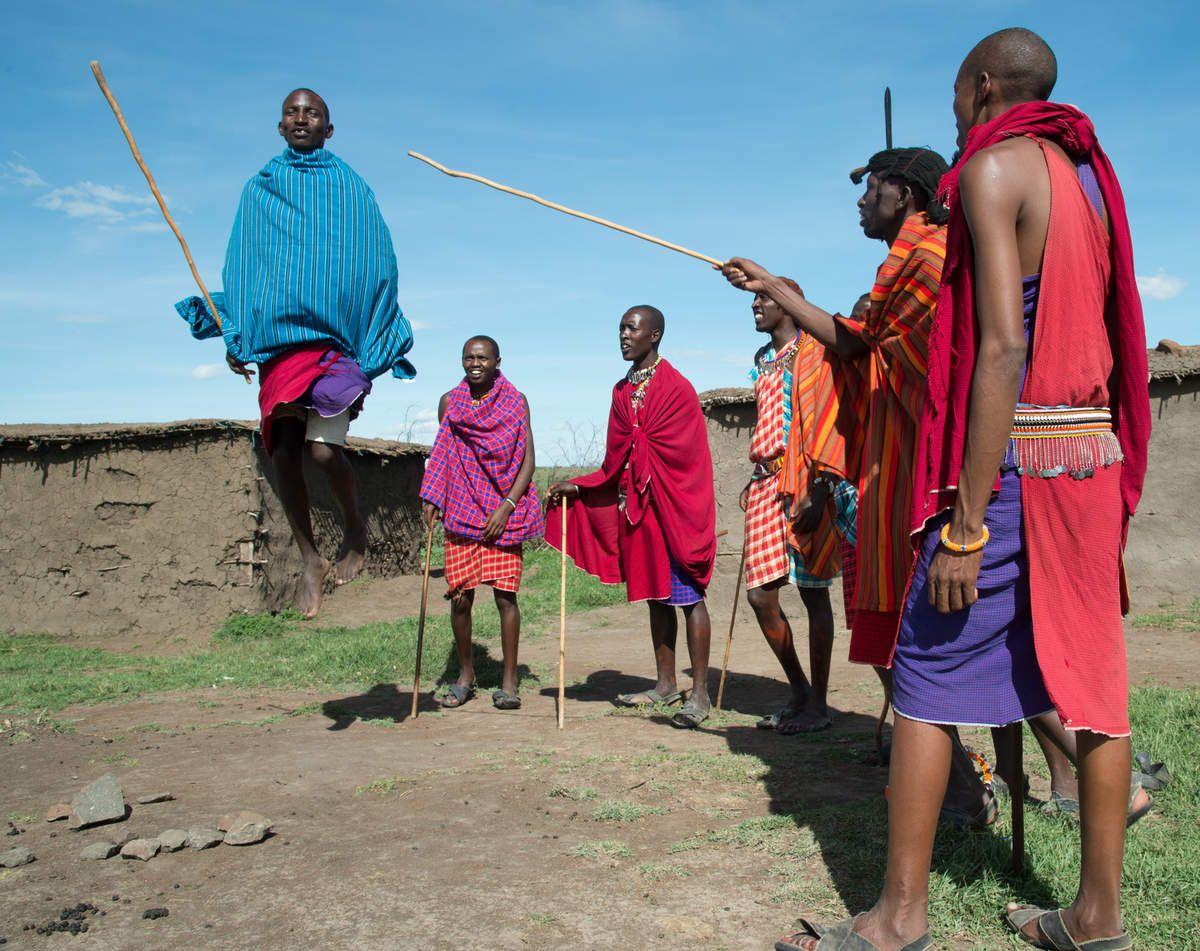visite au village Masai