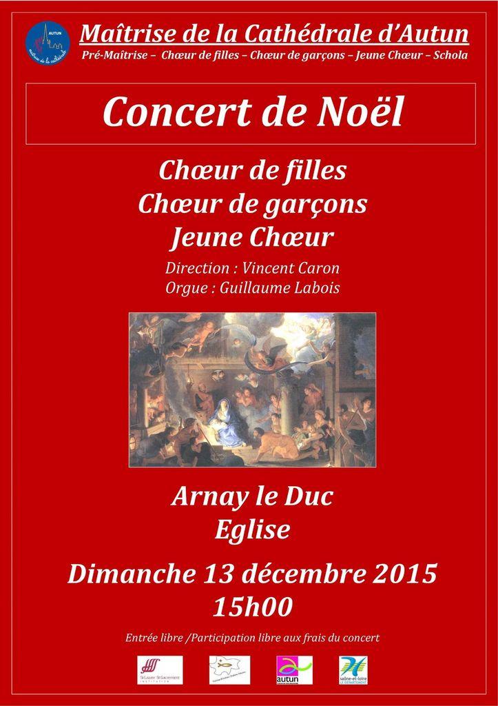 Concert de Noël de la Maîtrise d'Autun