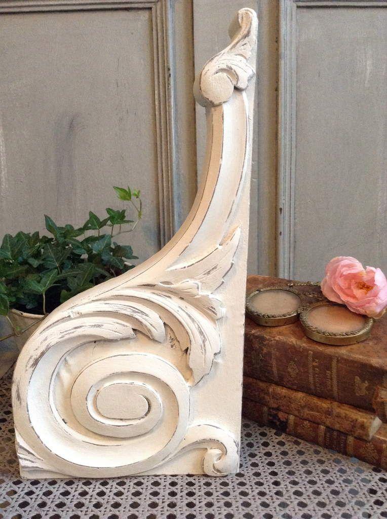 boiserie console ancienne 19 me patin e blanc antique patine et gaufre blog d coration de. Black Bedroom Furniture Sets. Home Design Ideas
