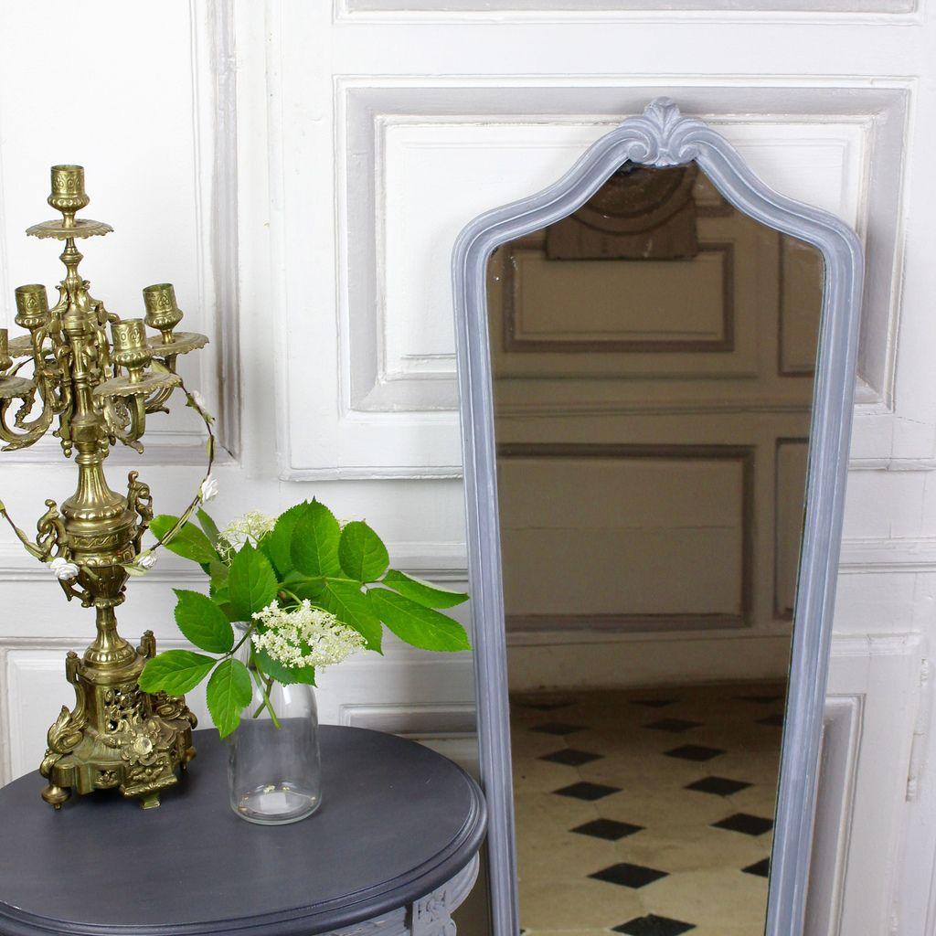 miroir psych patin gris bleu gustavien patine et gaufre blog d coration de charme. Black Bedroom Furniture Sets. Home Design Ideas