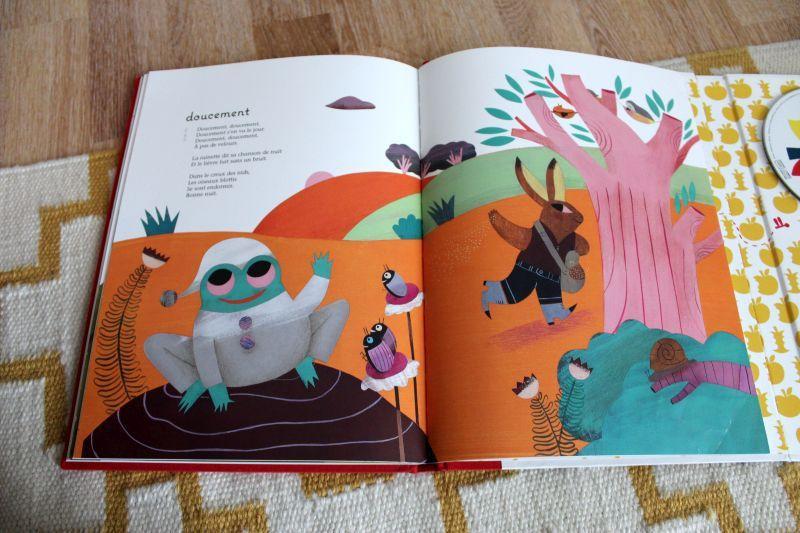 """Le magnifique livre-disque """"Pomme de reinette et pomme de nuit"""" chez Milan Jeunesse. A offrir et à s'offrir."""