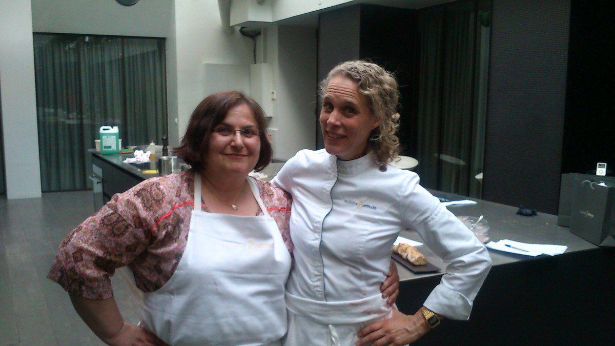 Chef Cathleen et moi