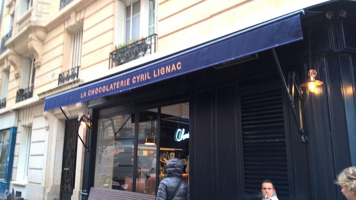 Un samedi à la Chocolaterie by Cyril Lignac