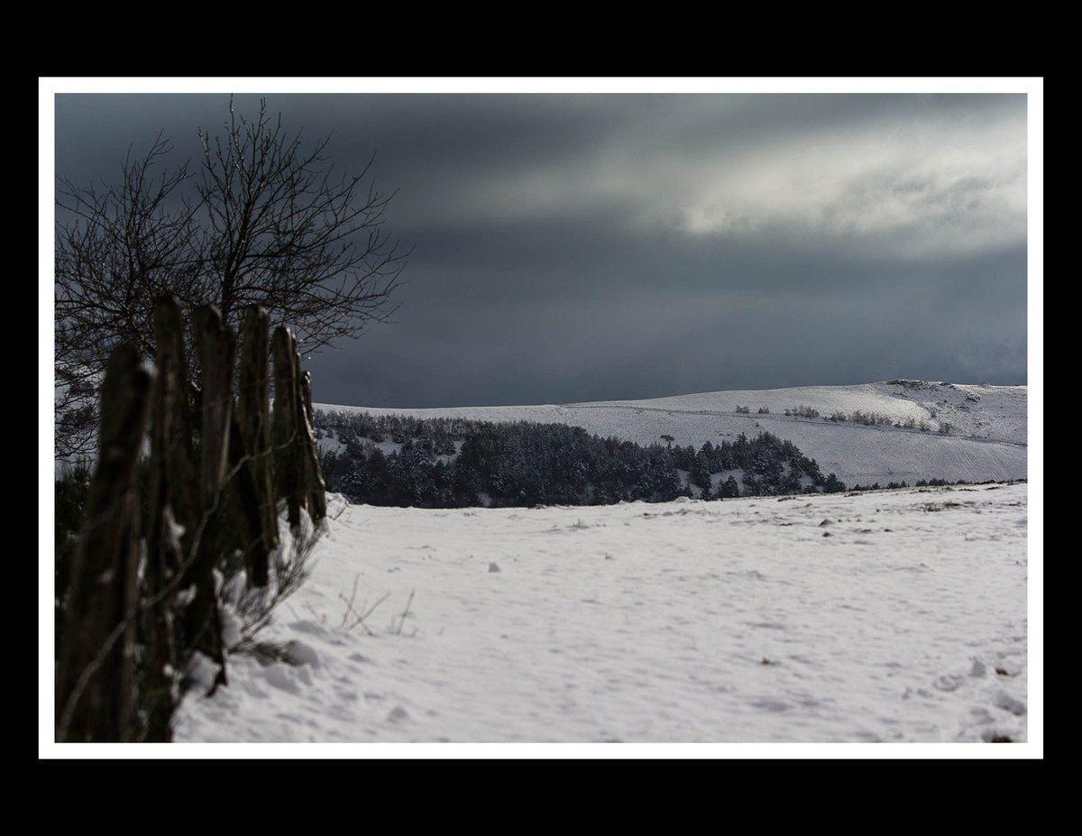 Premières neiges sur l'Aubrac