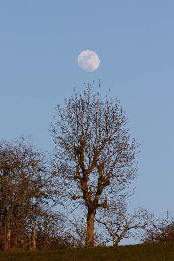 Pleine lune de Mars en Aveyron