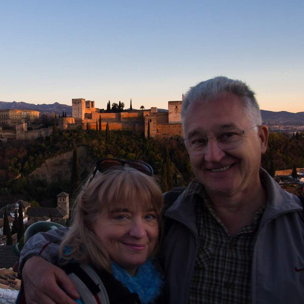 Espagne - Andalousie- Grenade ville et quartiers