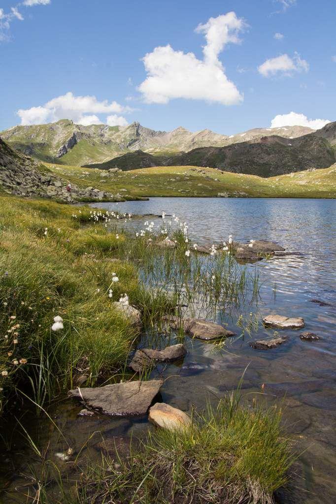 Névache - Lac long et lac rond