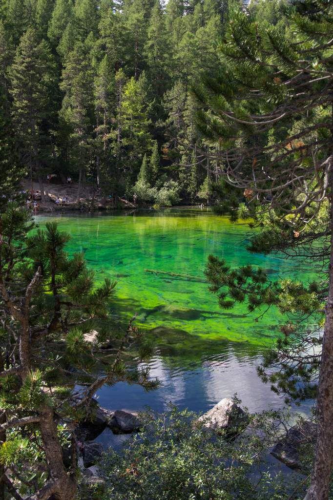 Névache - Lac vert