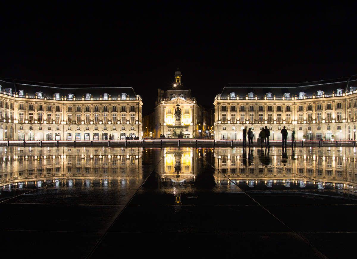 Une soirée à Bordeaux