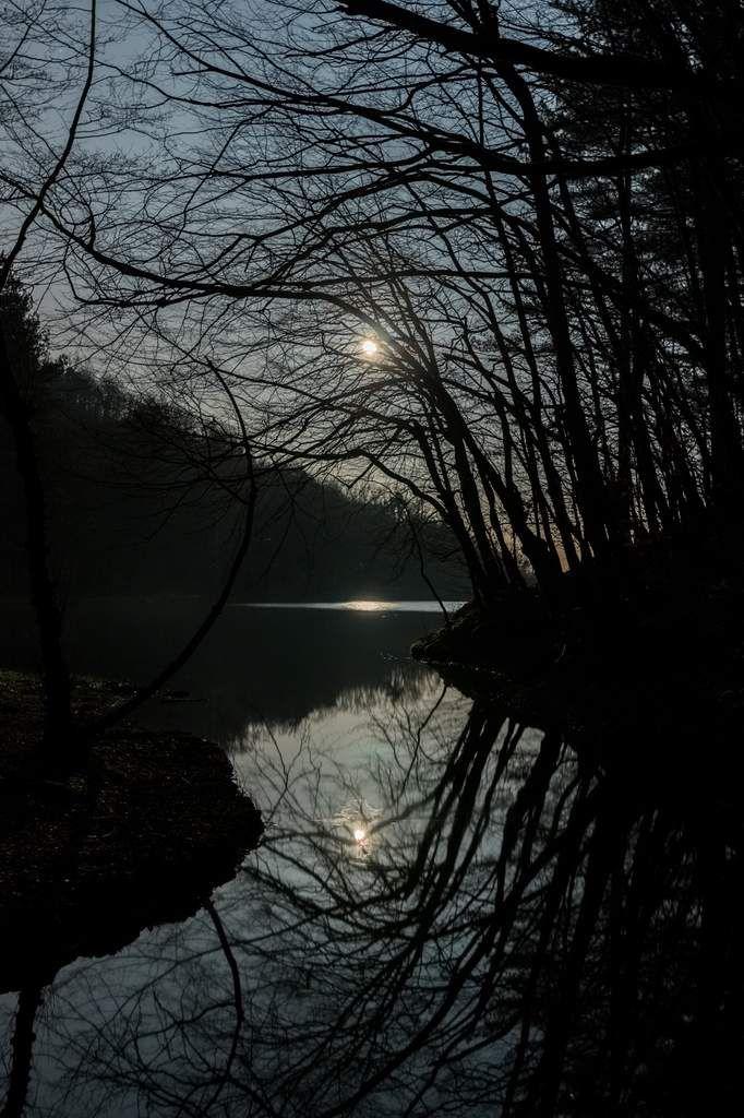 reflets de lune à Thurins