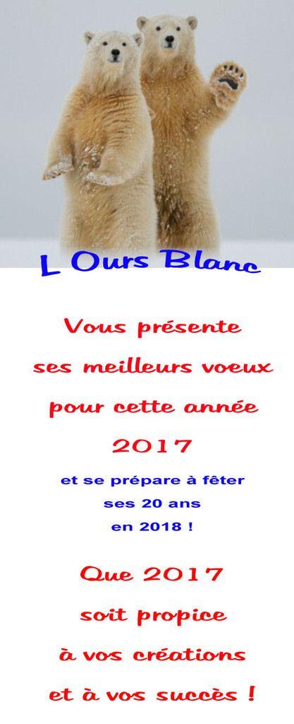Les voeux de L'Ours Blanc