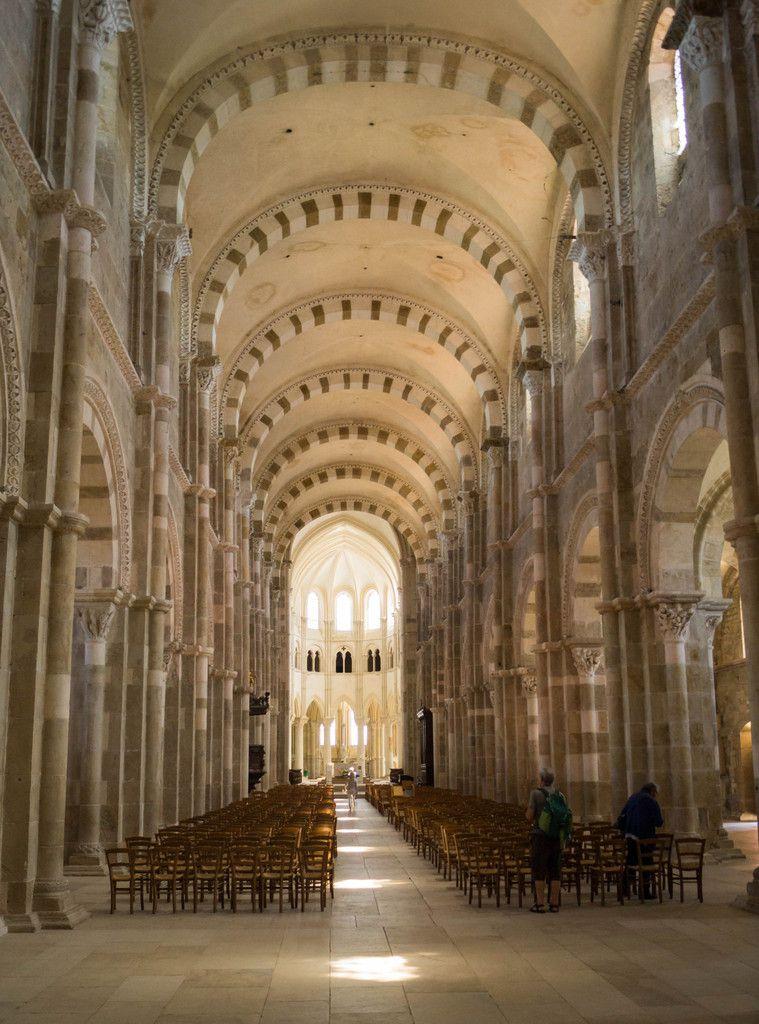 Vézelay entre ciel et terre