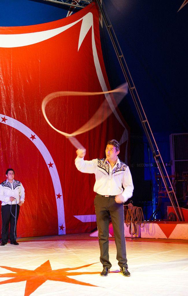 Le cirque Zavatta à Avallon en 2014
