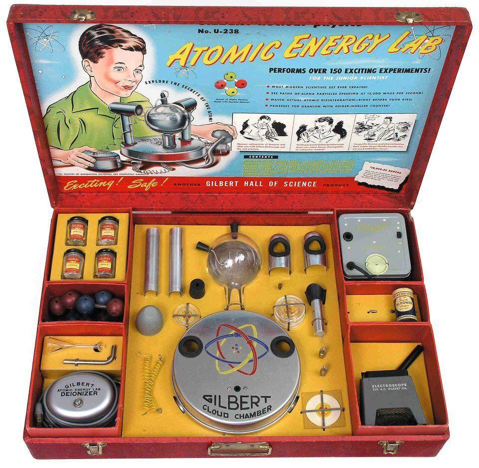 Boîte de jeux atomique...