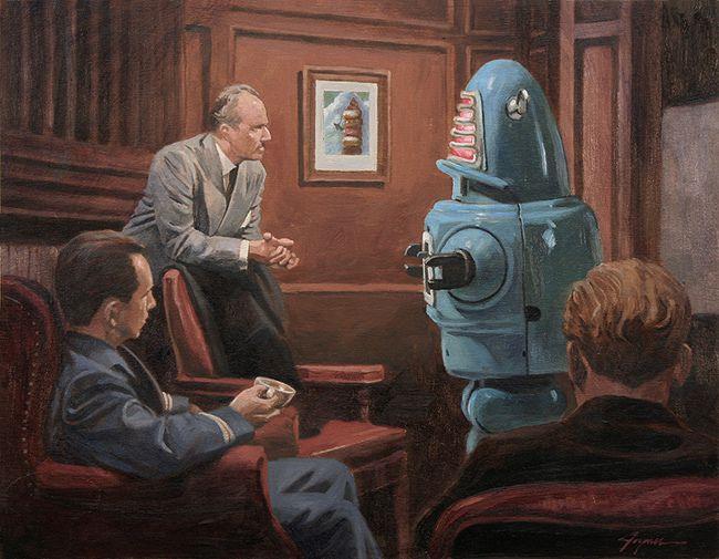 Série robotique d'Eric Joyner, pour quelques jours !