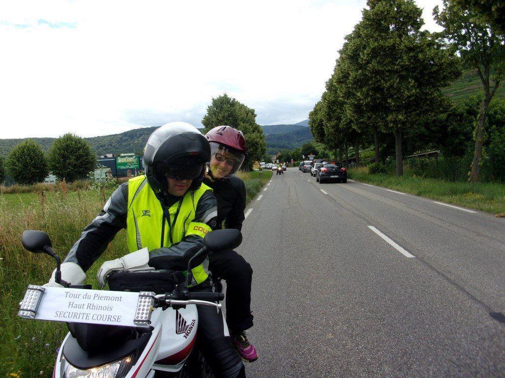 Arbitre à moto au TPH