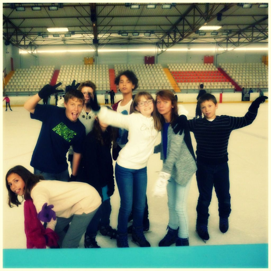 Patinoire!