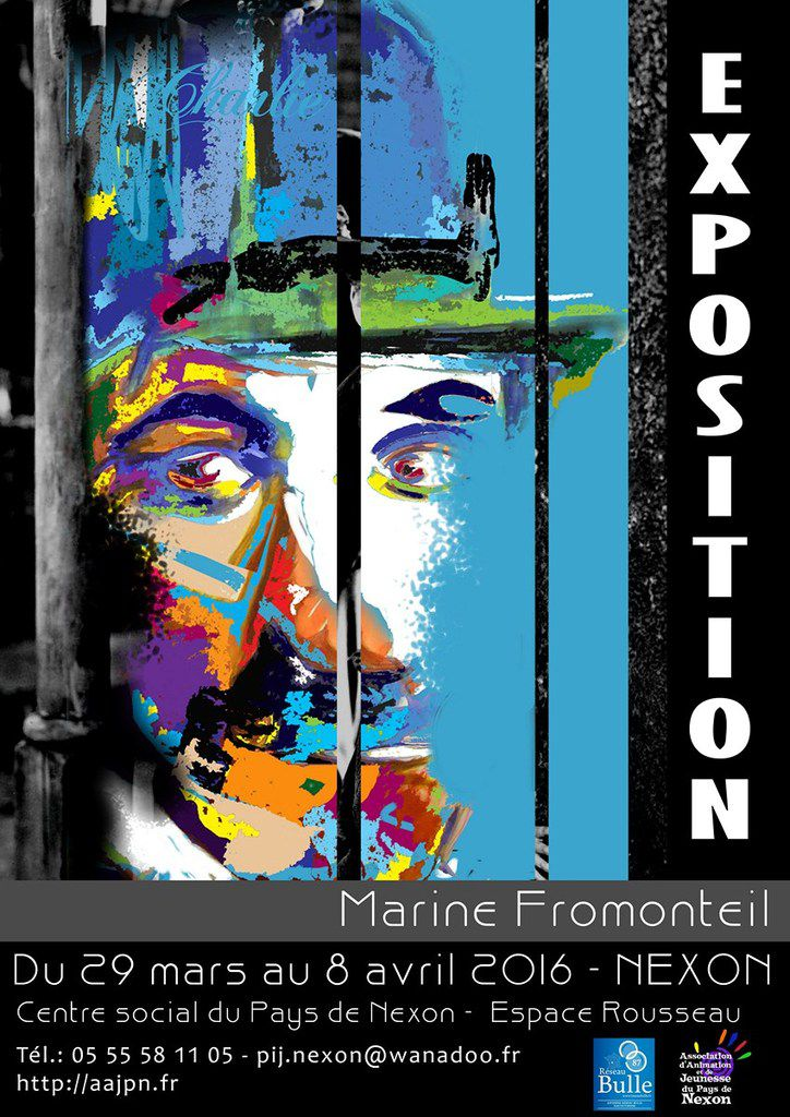 EXPOSITION Marine Fromonteil - NEXON du 29 mars au 8 avril 2016