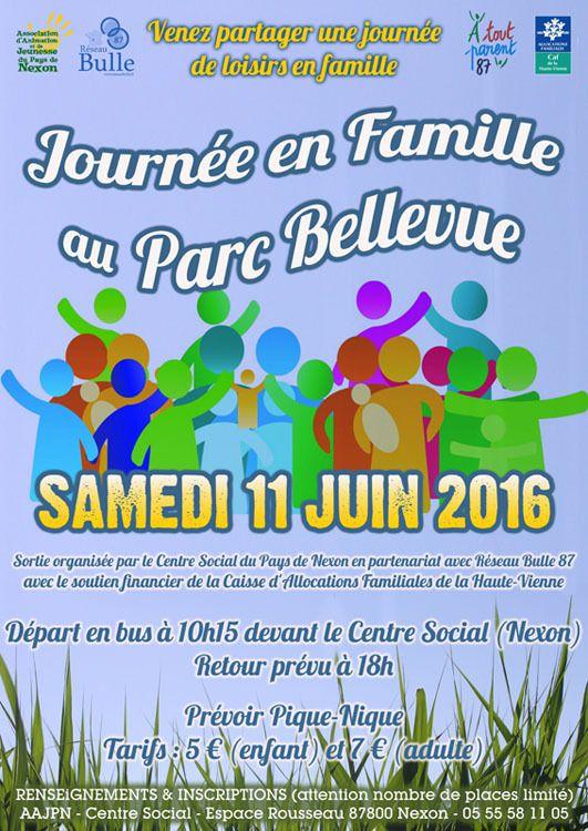 SORTIE EN FAMILLE en Partenariat avec l'association RESEAU BULLE 87