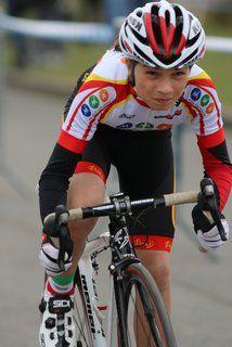 Angus BOULAIRE, victorieux en sprint et cyclo-cross, catégorie benjamins