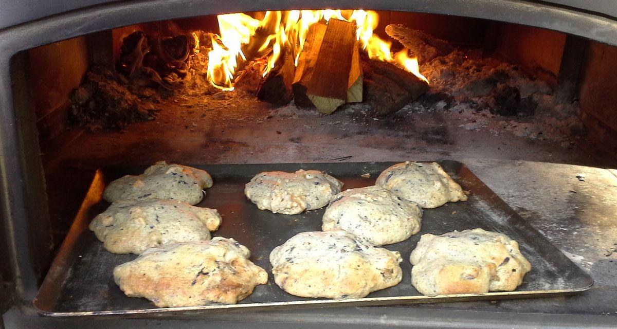 Pendant la cuisson à feu vif