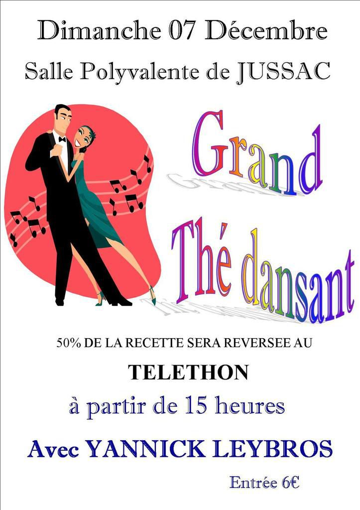THE DANSANT AU PROFIT DE L'AFMTELETHON