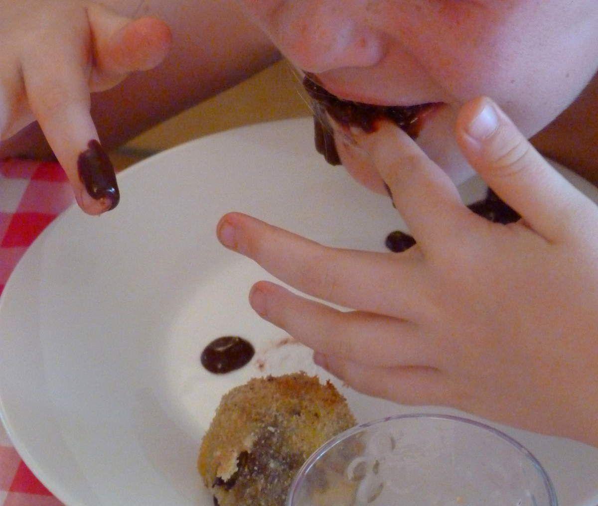 Croquettes au chocolat de Philippe Conticini